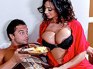 When a caller at her sofa and breakfast is having trouble performing on his honeymoon, Ariella gives a decision to take matters into her own hands...along with his dong!  The hostess with the mostest, Ariella will bow over backwards in order to leave her guests satisfied.