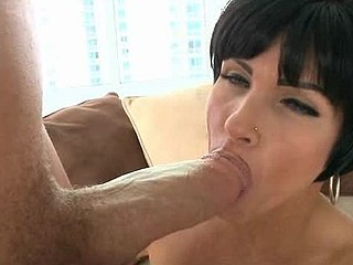 Beauty likes to get her loving holes stuffed by large penis