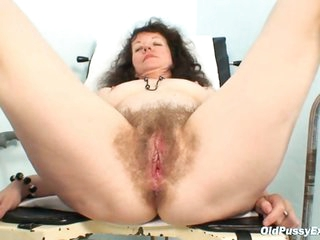 Karla visits gyno clinic with exceedingly curly cookie