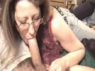 Mom sucking rod for a bit of specie