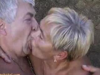 Granny engulfing schlongs
