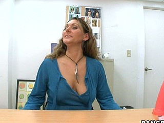 Welcome back for one more great episode of Back Room Mommy I'd Like To Fuck. Stopping by the office this day will be the sexy mam i'd like to fuck Devin James. That Playgirl heard throughout the grapevine that Bangbros is the place to be when u need some supplementary pay and a good fuck. So that chick figured why not! This honey came ready for action. Gratifying herself as Joey watched until that guy grabbed her and fucked for quite some time dropping a huge nut on her large billibongs. Don't miss out, Have A Fun!